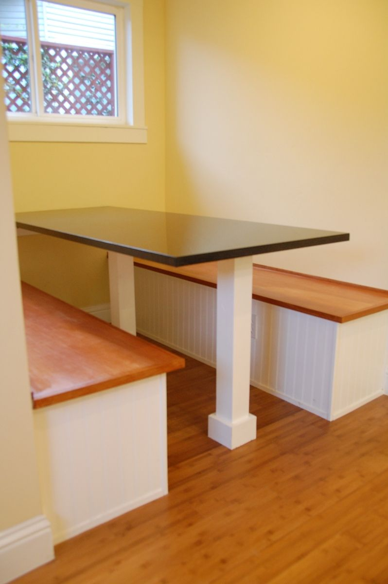 Hand Crafted Custom Built In Breakfast Nook By Dagan
