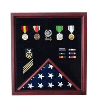 Custom Made Soldier Flag Display Case