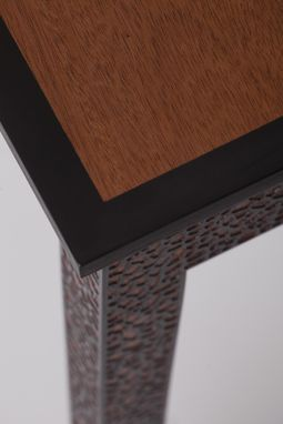 Custom Made Leopard Sideboard Table