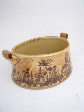 Custom Made Casserole Or Vase