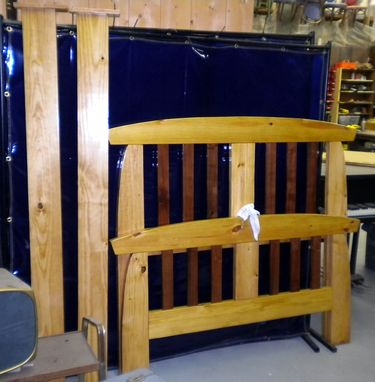 Custom Made Full Bed Frame