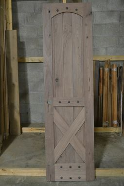Custom Made Rustic Barn Style Doors