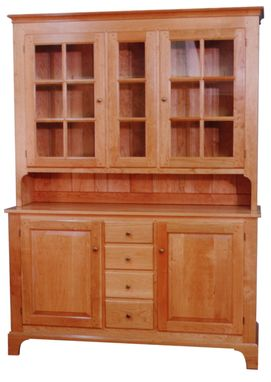 Custom Made Buffet Cupboard Shaker Style In Natural Cherry