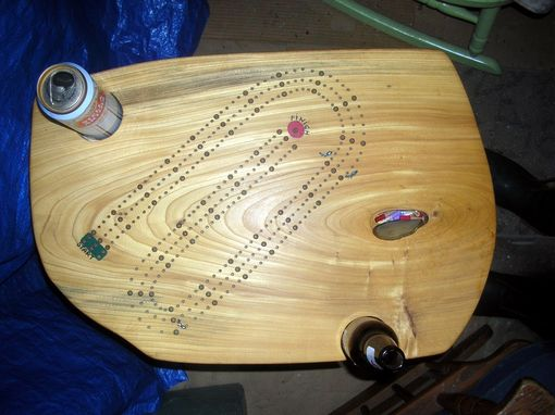 "Custom Made ""What More Could You Want"" Cribbage Table"