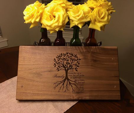Custom Made Personalized Serving Tray