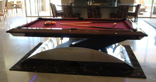 Custom Made Contemporary Billiards Table,