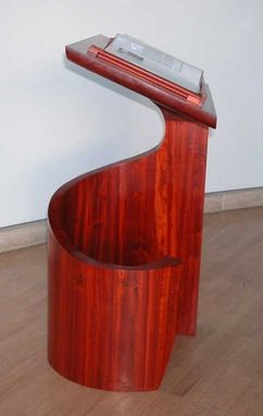 Custom Made Pedestal For Walt Disney Concert Hall
