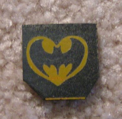 Custom Made Batman Necklace Laser Etched Design Dichroic Glass