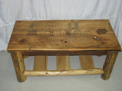 Custom Made Texas Hold'em Coffee Table