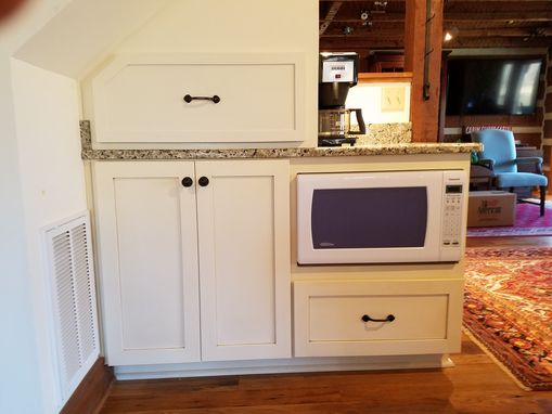 Custom Made Cabinetry For A Counter Top