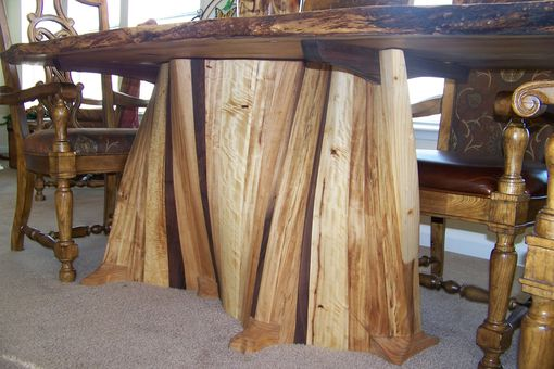 Custom Made Serpentine Dining Table