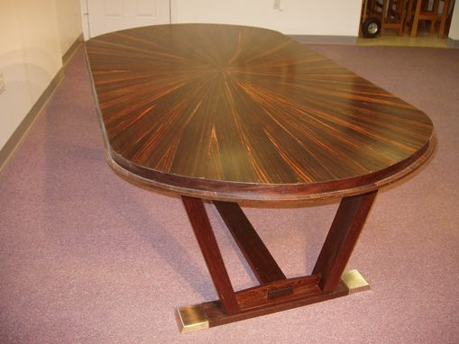 Custom Made Contemporary Dining Table