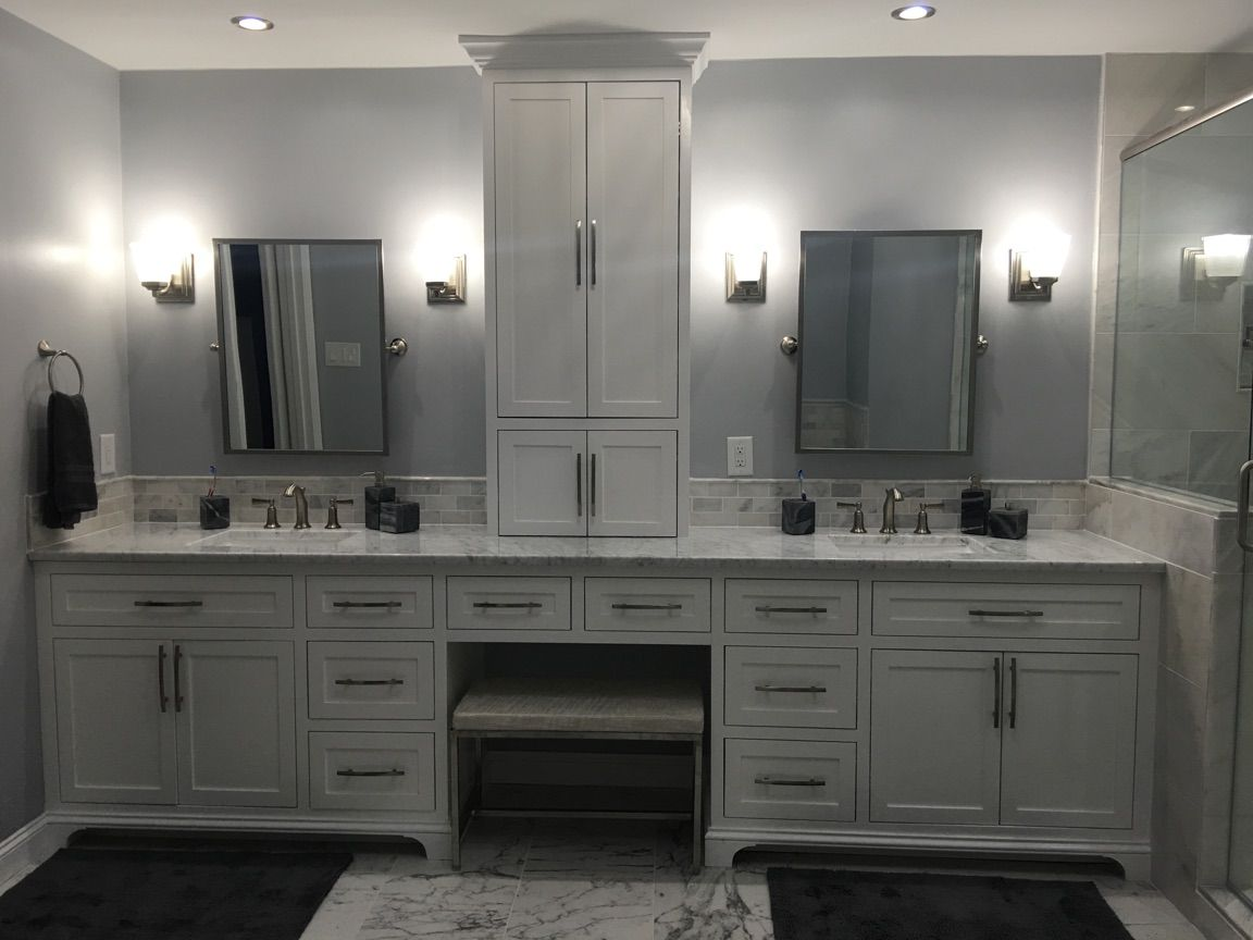 Hand Made Custom Build Bathroom Vanity