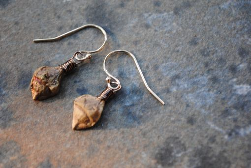 Custom Made Tiny Seed Pod Earrings