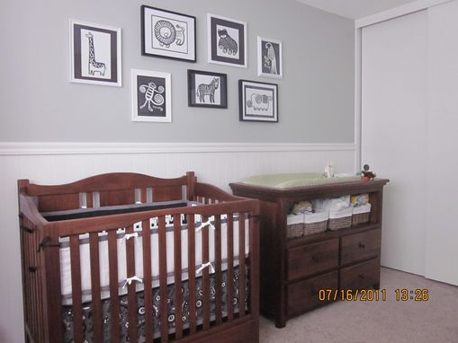 Custom Made Mahogany Crib