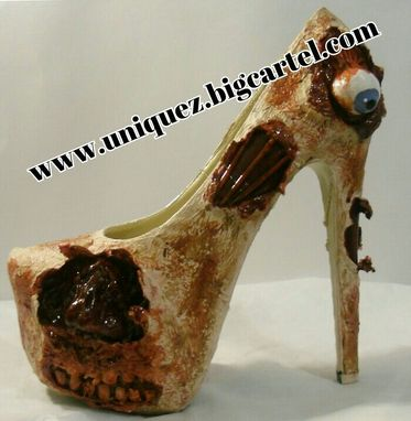 Custom Made The Walking Dead Heels (3d Zombie Pumps)