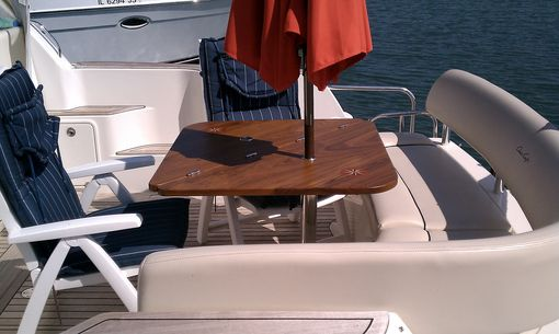 Custom Made Teak Yacht Table