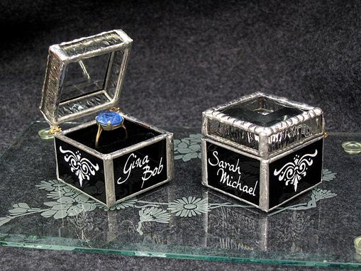 Custom Made Custom Personalized Ring Boxes