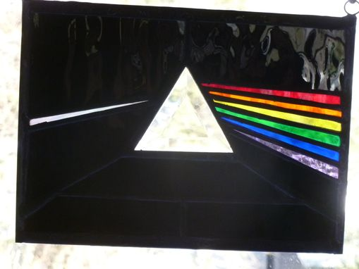 Custom Made Stained Glass Pink Floyd Album Art
