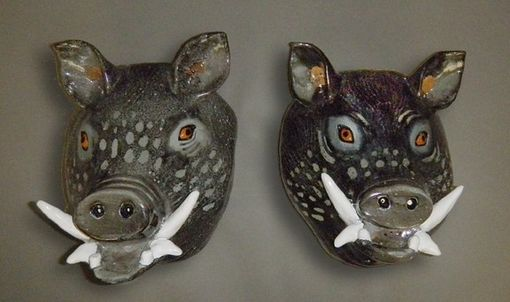Custom Made Boars Heads