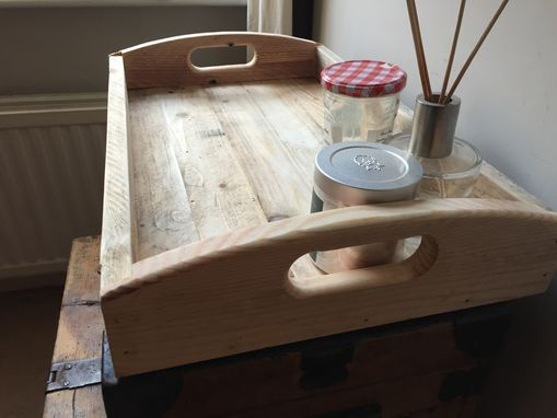 Custom Made Solid Wood Serving Tray