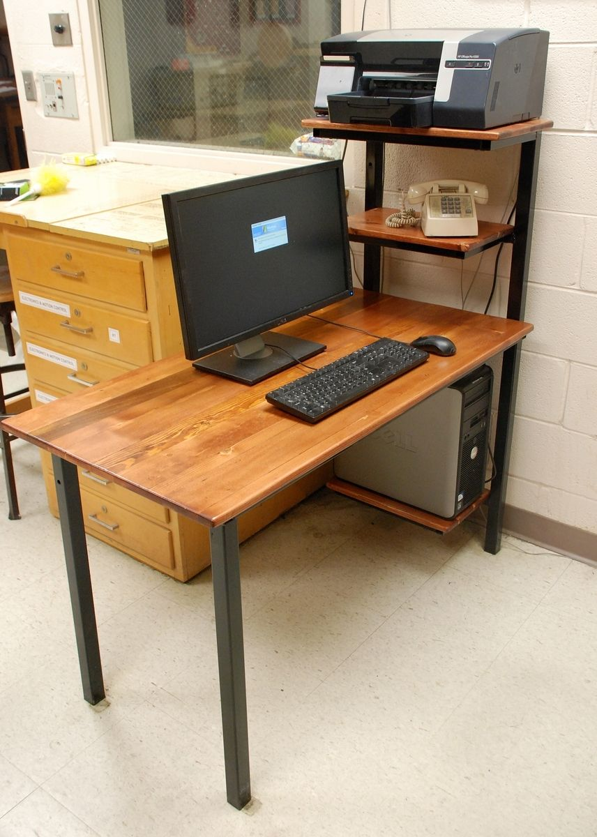 Handmade Computer Desk By Discriminating Designs