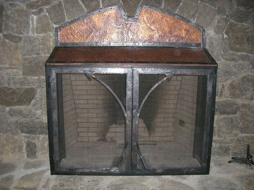 Custom Made Oak Hill Iron - Fire Place Accessories