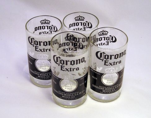 Custom Made Beer Bottle Tumbler: Corona Extra 10oz