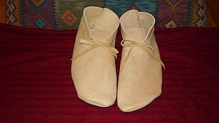 b17d0ffcfa802 Custom Made Braintan Leather Plains Style Soft Soled Moccasins by ...