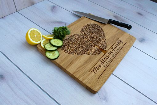 Custom Made Personalized Cutting Board, Engraved Cutting Board, Custom Wedding Gift – Cb-Wo-Masonheart