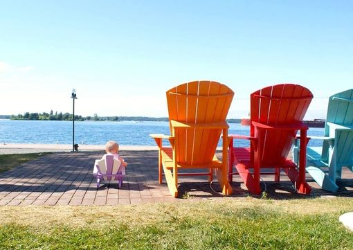 Custom Made Children's Adirondack Chair
