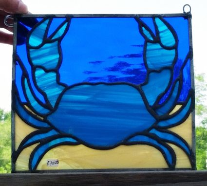 Custom Made Tiny Crab - Small Hanging Panel (G-23)