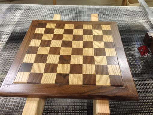 Custom Made Heirloom Walnut/Oak Chess Board