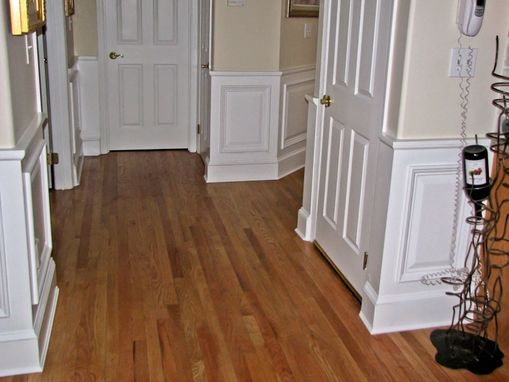 Hand Made Arbor Field Manor Raised Panel Wainscoting By
