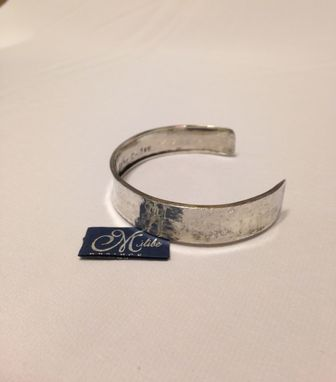 Custom Made Personalized Cuff Bracelet