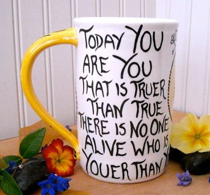 Custom Made Personalized Custom Quote Mug