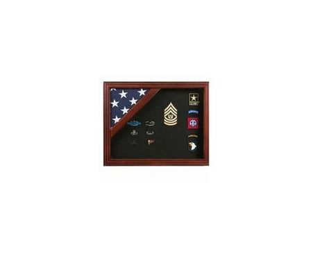 Custom Made The Patriot Flag Display Case