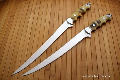 Handmade Fillet Knives By Cote Custom Knives Custommade Com