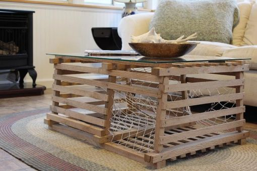 Custom Made Maine Wooden Lobster Trap