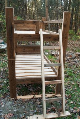 Custom Made Reclaimed Bunk Bed
