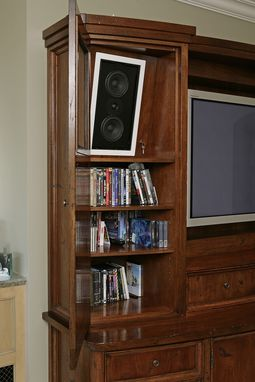 Custom Made Rustic Home Theater