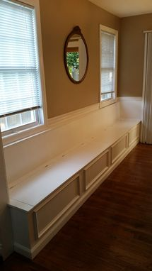 Custom Made Dining Banquette
