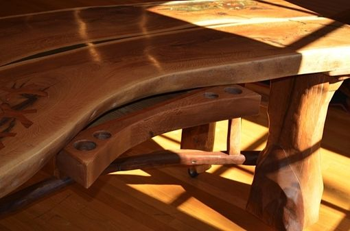 Custom Made The Elders- White Oak Desk