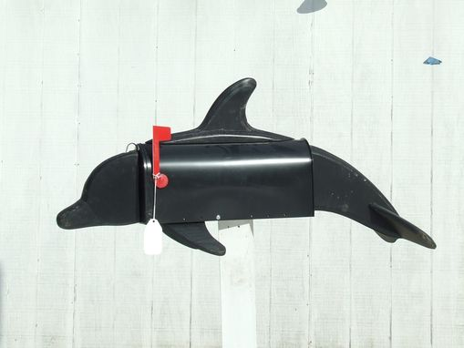 Custom Made Dolphin Mailbox Art