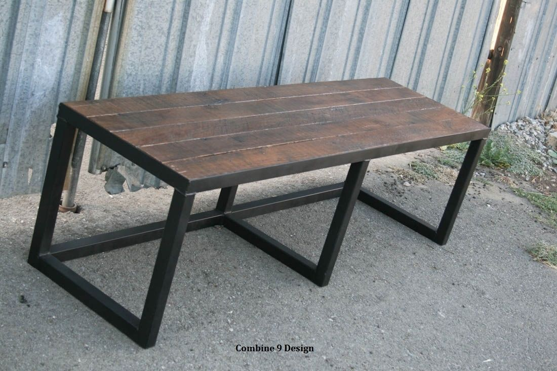industrial style outdoor furniture. Buy A Custom Reclaimed Wood Bench, Rustic Urban Decor, Farmhouse Style. Industrial., Made To Order From Combine 9 | CustomMade.com Industrial Style Outdoor Furniture