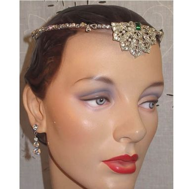 Custom Made Vintage Brow Band Forehead Headpieces