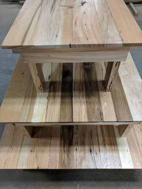 Custom Made Rustic Mixed Species Reclaimed Hardwood Tables