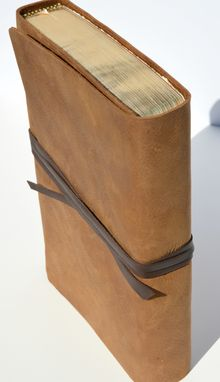 Custom Made Custom Made To Order Leather Cover For Any Version Bible With Rebinding (296)