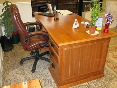 Custom Made Custom Built Hardwood Desks