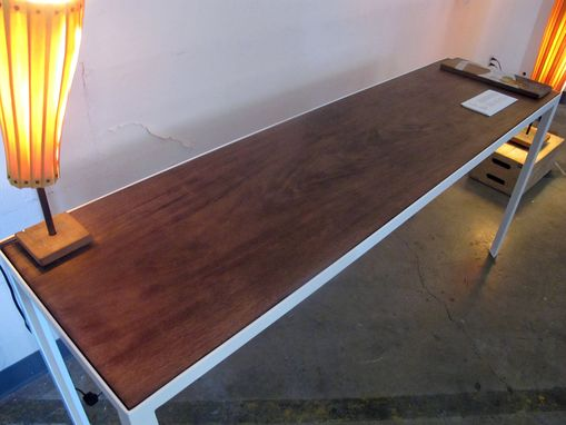 Custom Made Solid Mahogany Desk